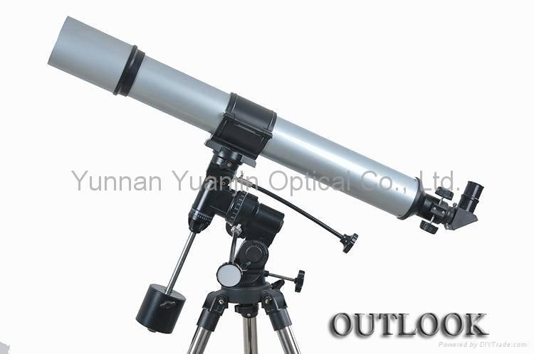 Professional high powered telescopes 90x900EQ astronomical binoculars