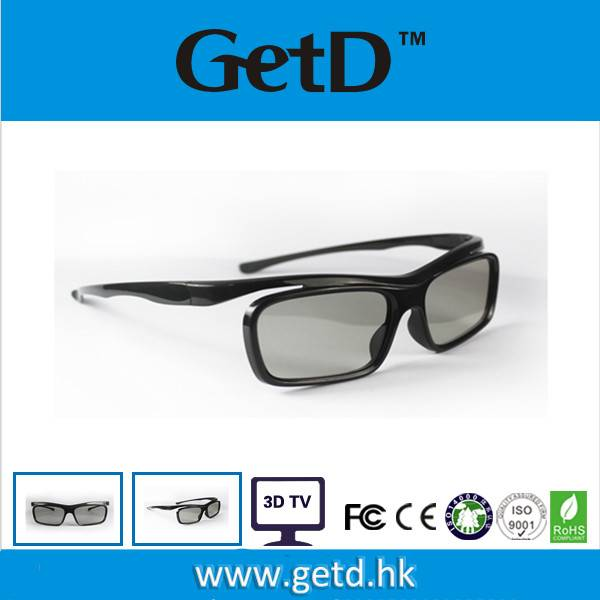 Cost- effective 3D Glasses for TV Compatible Manufacture Passive Light Weight G68