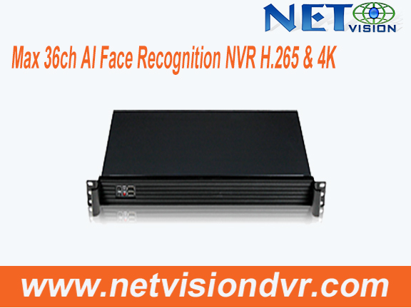 NVSS8102/NVSS8302--36 channel Face Reconigtion Network Video Recorder
