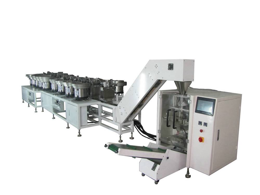 Automatic hardware counting & packaging system