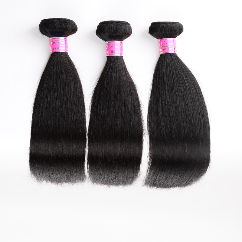 Peruvian Human Hair 3 Bundles Straight Virgin Hair Hot Sale Unprocessed Virgin Human Hair Extensions