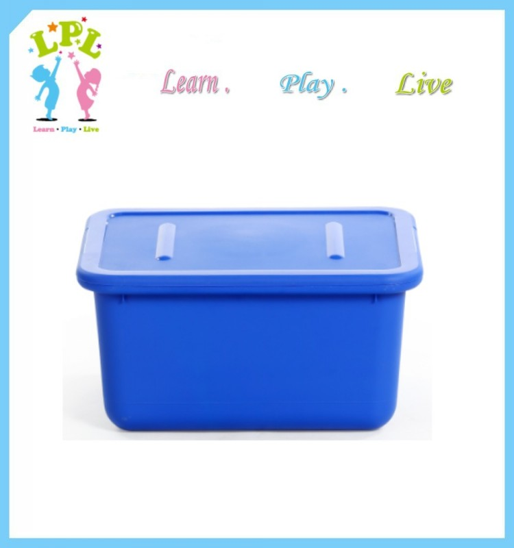 New pp absolutely eco friendly food grade colorful plastic toy storage box