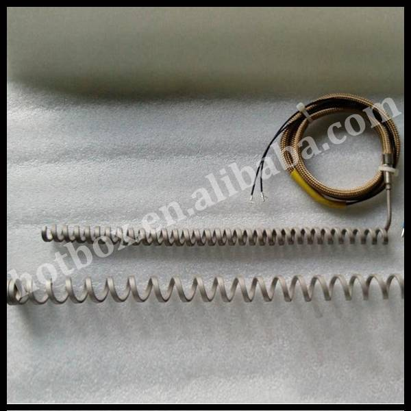 Mirco spring type hot runner coil heaters heating element
