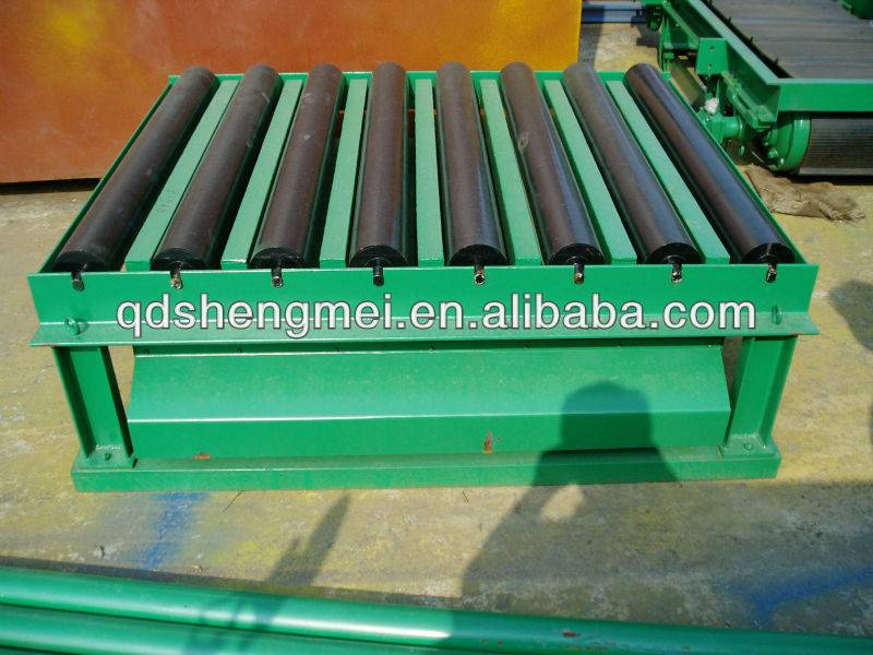 sandry made resin-bonded sand casting vibrating table