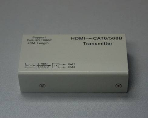 HDMI(RX)_2CAT6_HDMI(TX)_50m1080p(whole set:TX+RX)
