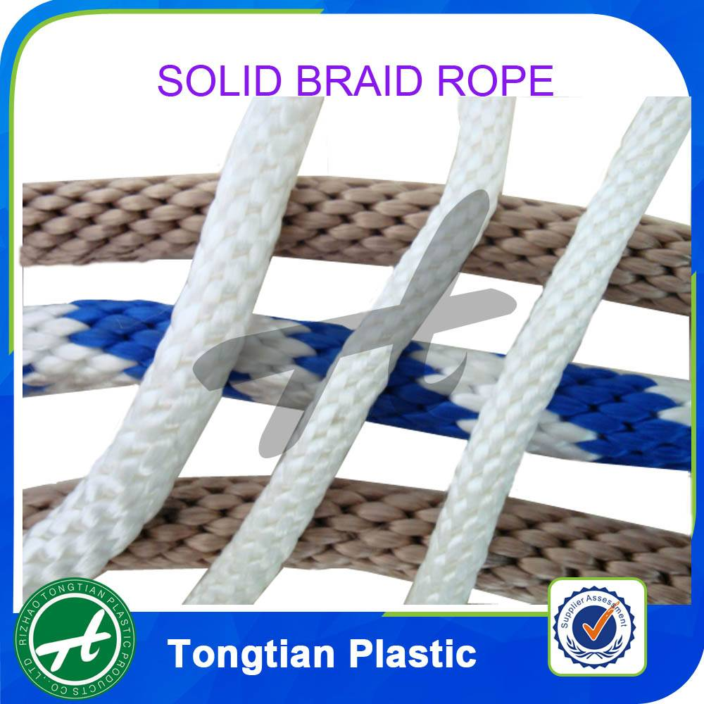 solid braid polypropylene rope