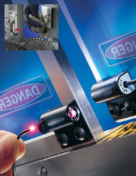 Banner Safety interlock switchs Pico-Guard safety switches