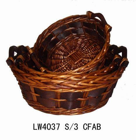 Willow fruit basket