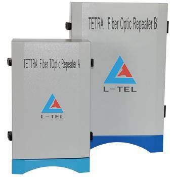 TETRA Fiber Optic Repeater One Donor Unit link with 4 Remote Units