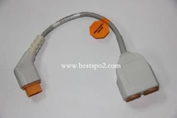 GE Dual channel IBP cable adapter