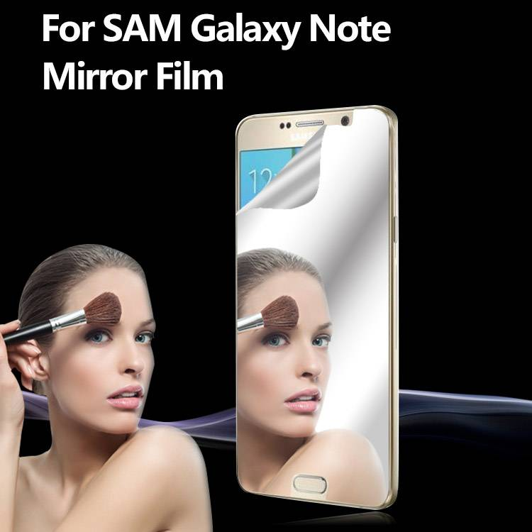 Mirror Reflected Style Mirror LCD Cover Screen Protector For Samsung Galaxy Note5