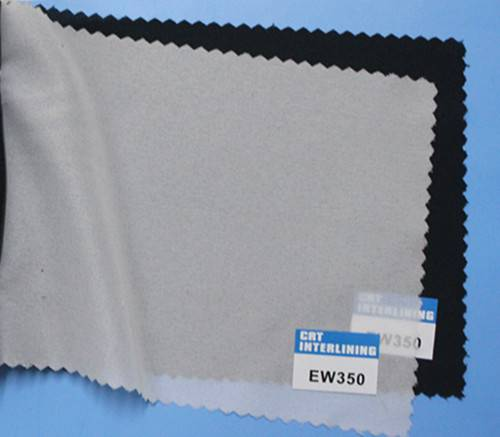 woven fusible enzyme wash interlining-EW350(interfacing)