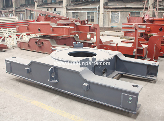 Crawler Crane Undercarriage parts for FUWA 35-350 ton heavy machinery