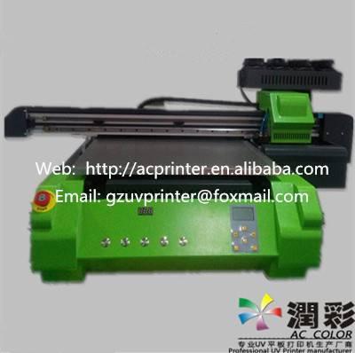 High quality flatbed uv inkjet printer 600*900mm print size