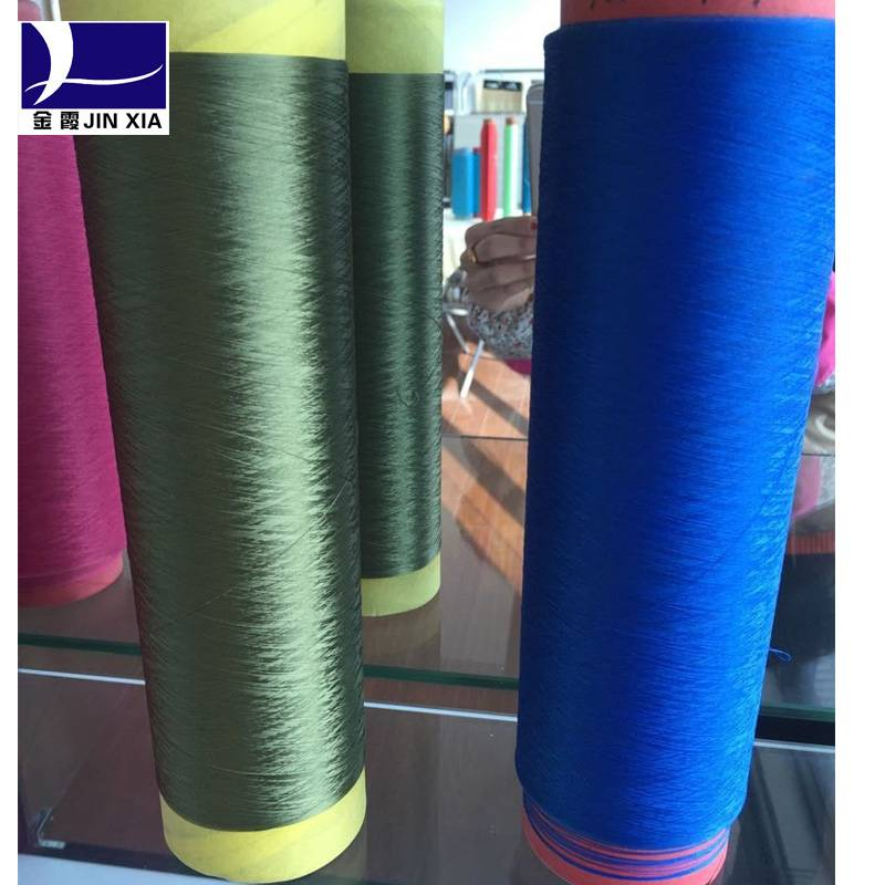 dyed polyester filament dty yarn