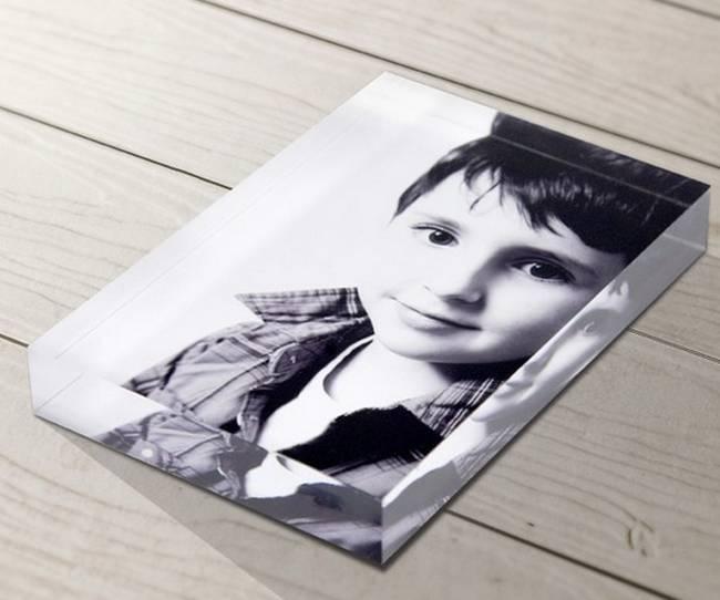 Plexiglass / acrylic UV printing photo block
