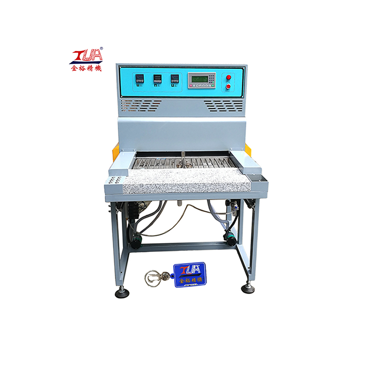 custom pvc patch machine