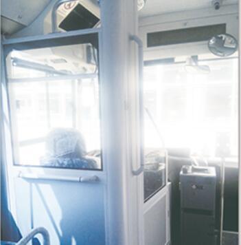 ZTLBW6180 Bus Aluminum Alloy Parts For Surrounding Driver