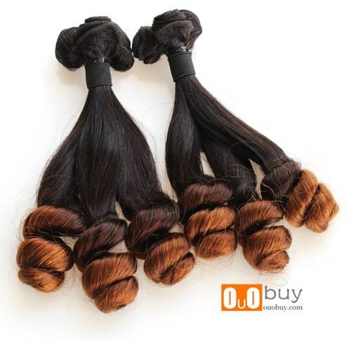 Cambodian Virgin Human Hair Unprocessed 100% Virgin Human Hair Ombre Funmi Hair