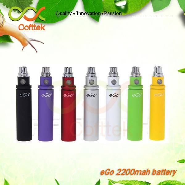 hot new products for 2015 ecigator ecig 2014 kgo 2200mah battery,kgo 1week kit,big capacity ego batt