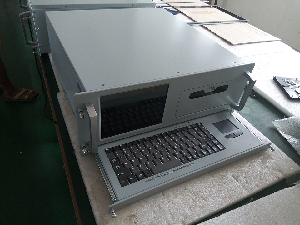 Rackmount computer 8 inches LCD All In One PC Chassis Workstation RCWS-08N