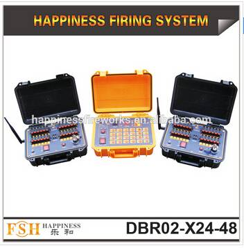 500 M remote control Fireworks Firing system, waterproof case, 48 cues firework system, new products