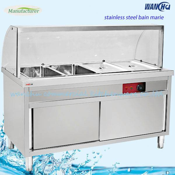 Electric Standing Bain Marie with Cabinet