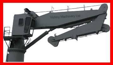 Electro-hydraulic knuckle boom crane
