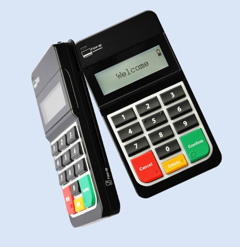Mobile Card Reader with keypad