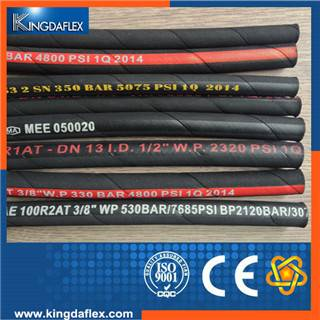 flexible hydraulic high pressure rubber hose