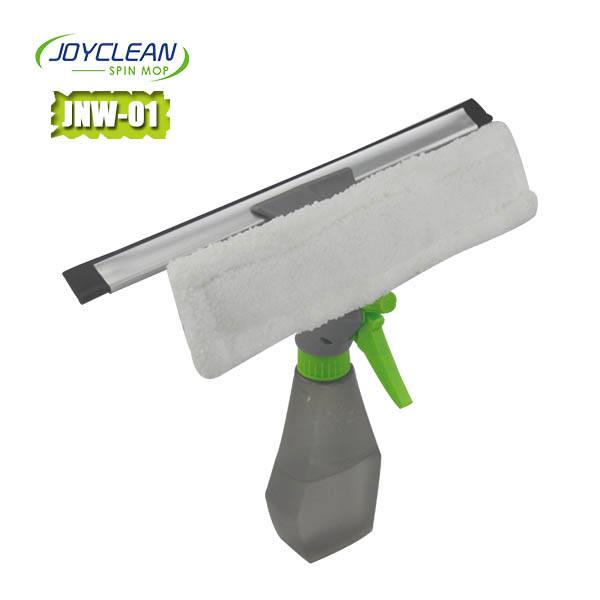 Joyclean Window Cleaner with a spraying mouth and a Rubber Scrubber