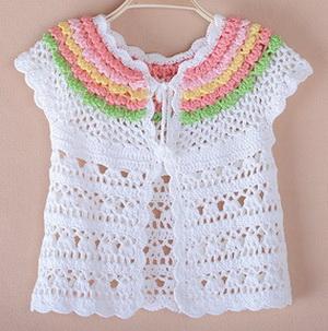 handmade crochet dress for baby girls
