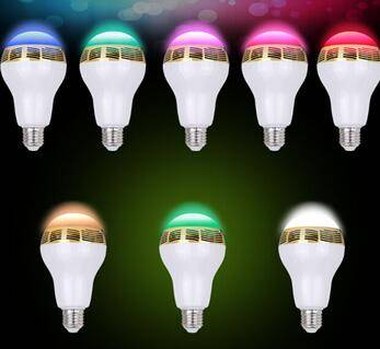 Top Seller Mini Wireless Speaker Bulb Light LED Bluetooth Speaker