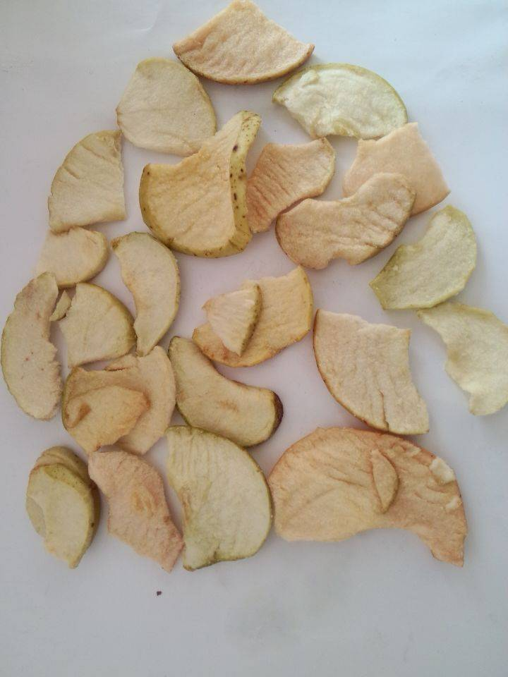 Dehydration apple chips-snack foods