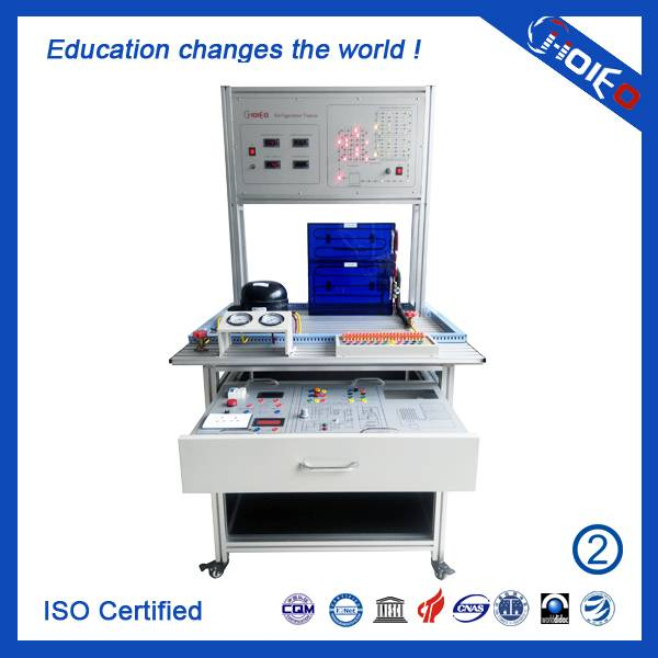 Refrigerator Assembling and Commissioning Trainer,Refrigeration Repair System Teaching Equipment,Ref