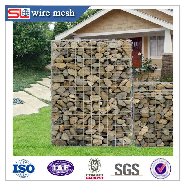 The stone cage gabion wall wall system / low cost / high quality
