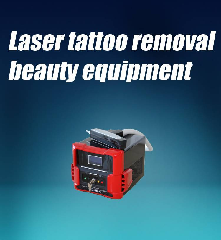 Portable home use medical tattoo removal laser machine