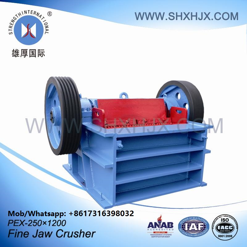 ISO Certificate Small Jaw Crusher Equipment