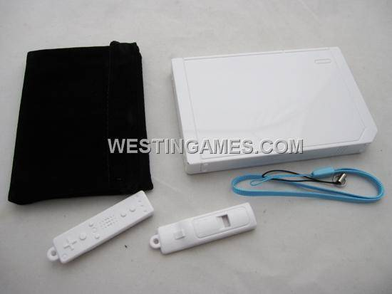 "Mini Wii Console Shaped USB 2.0 2.5"" SATA Portable Hard Drive HDD Housing Shell White"