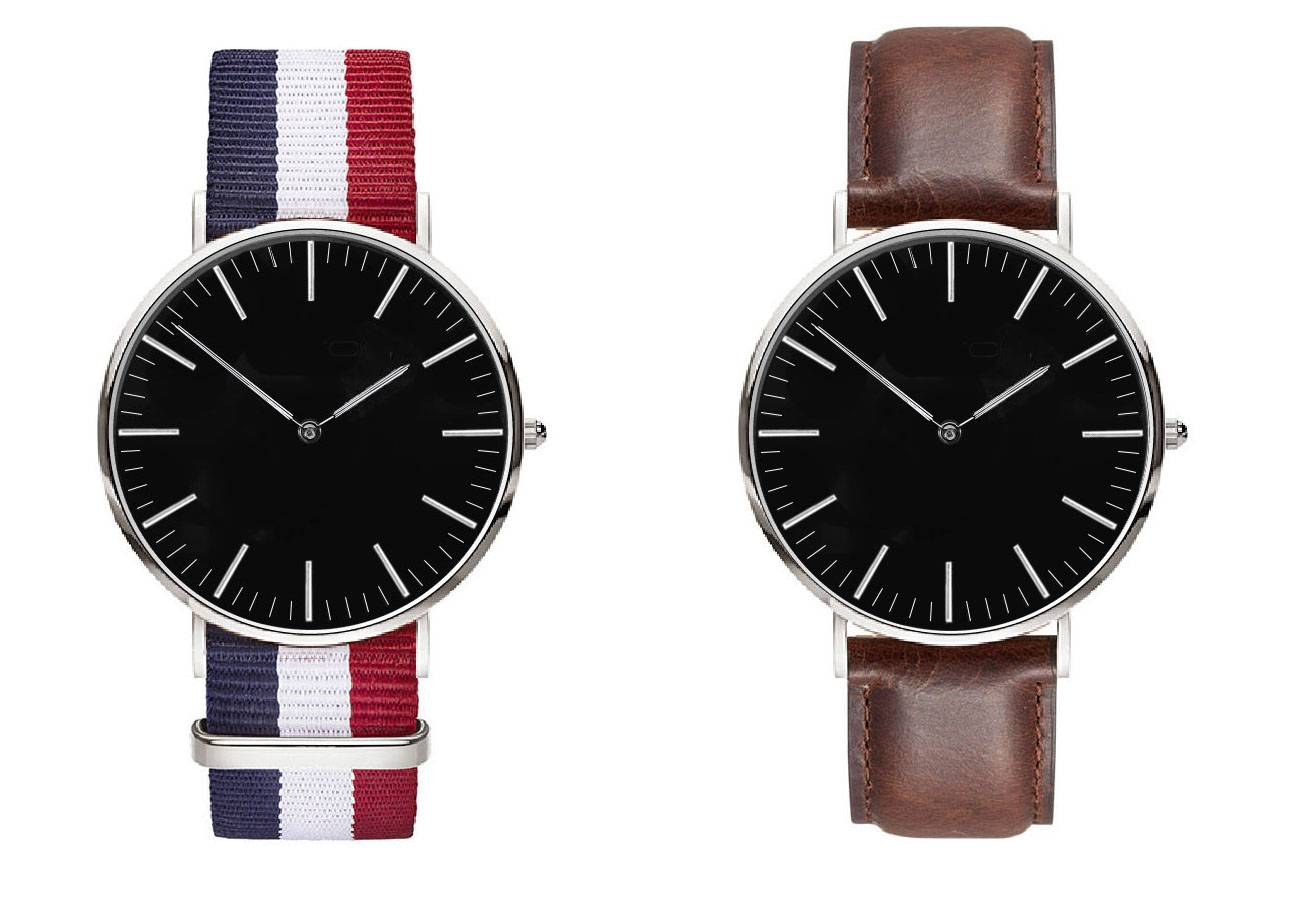DW style, classical and simple design, gentle men's first chioce