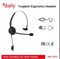 Leight Weight Design Call Center Headset Wth Quality Voice For CC&O