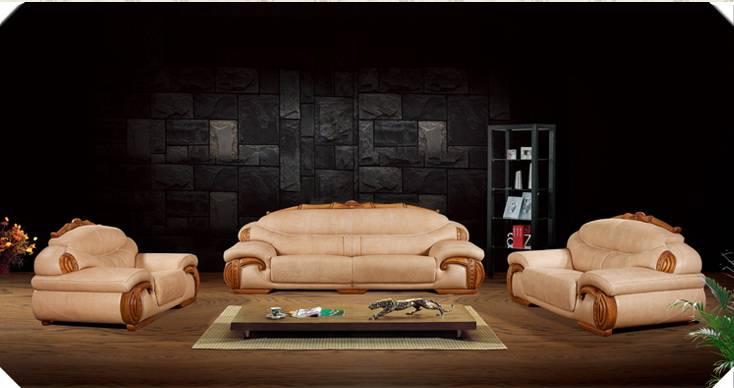 Top Grain Cow Leather Sofa Set