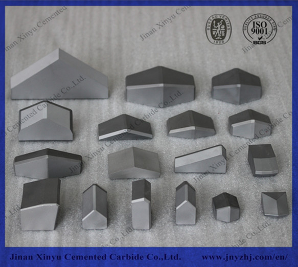 Tungsten carbide TBM shield cutting teeth
