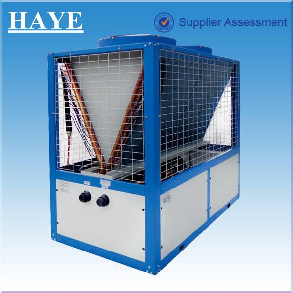 air cooled modular type machine for water cooling and heating
