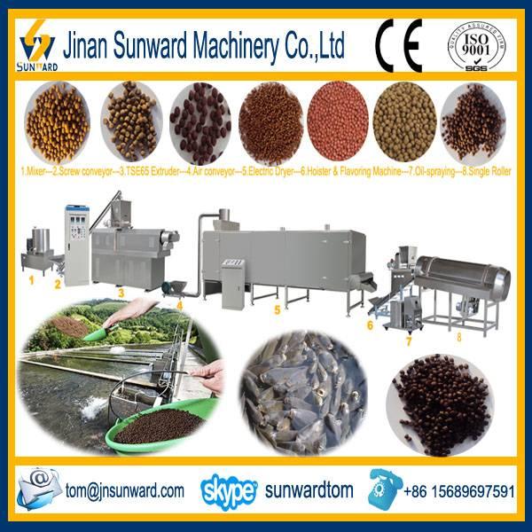 Aquatic Feed Processing Line Machinery