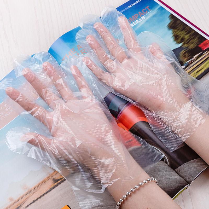 Disposable Transparent HDPE PE Plastic Gloves