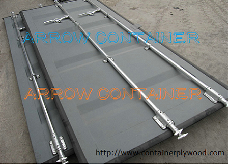 Container parts- shipping container door panel