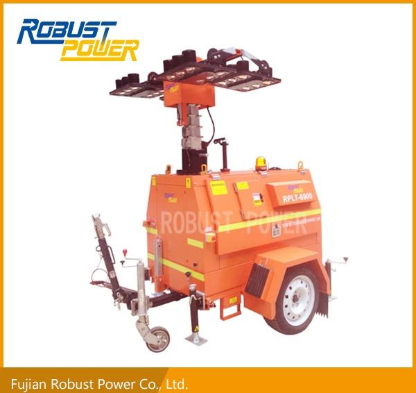 Portable Construction LED Mobile Lighting Tower (RPLT-6900)
