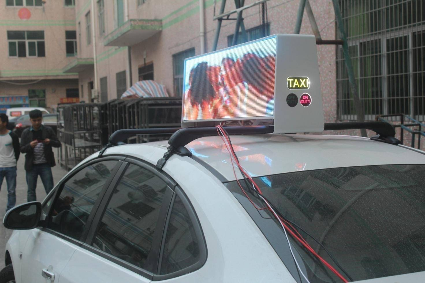 full color taixi top led display