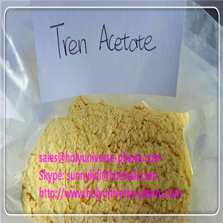 99% Quality Trenbolone Acetate,Yellow Tren,CAS10161-34-9, high quality powder